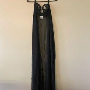 Halloween costume black cape